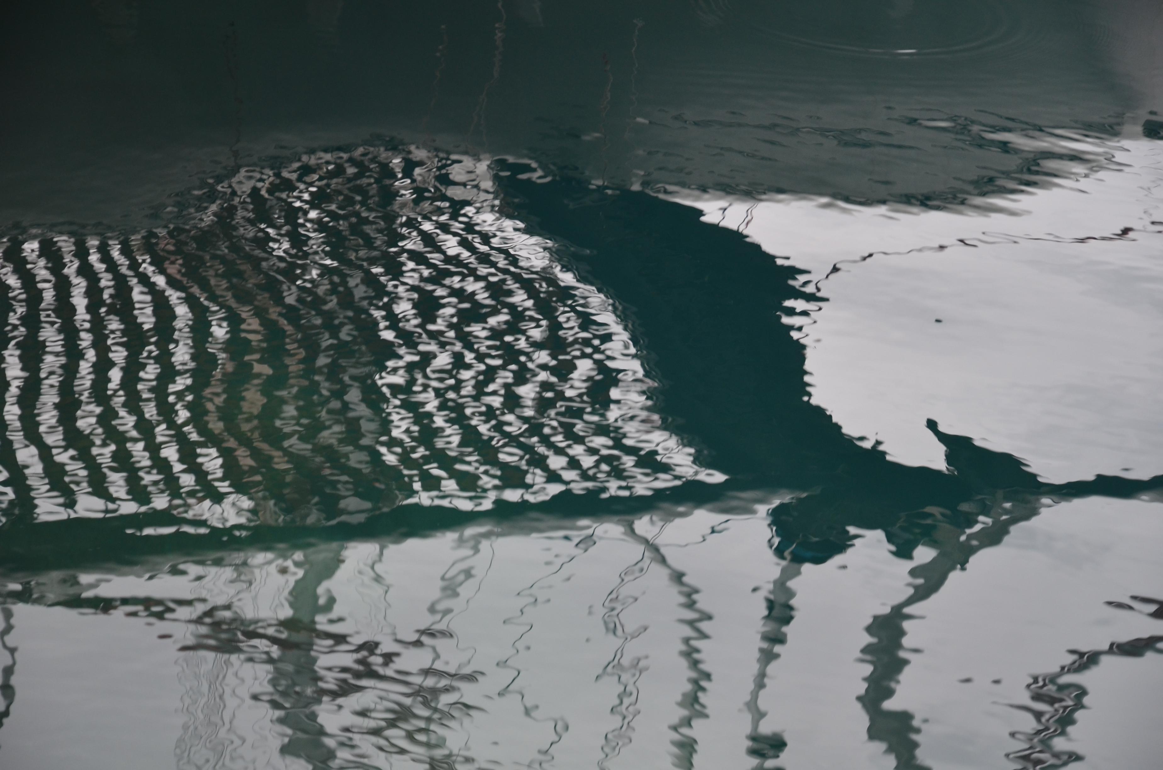 Sea Cloud - Spiegelung auf dem Wasser